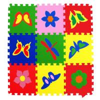 Мягкие полы Ekoprom Eco Cover коллекция бабочки 33 X 33