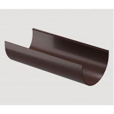 Döcke STANDARD Желоб водосточный 3000 мм (Тёмно-коричневый)