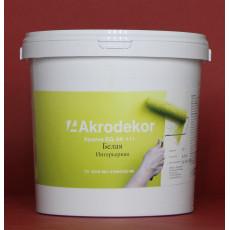 Краска ВД-АК-111 интерьерная белая 1,5кг (1л)