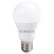 Лампа светодиодная LL-E-A60-15W-230-2,7K-E27 EUROLUX