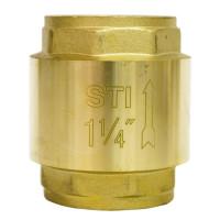 Клапан обратный пружинный STI 32  (латунь)