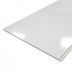 Панель ПВХ 2,7*0,25*5 Белая глянцевая Slim Premium (15)