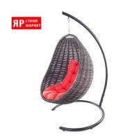Кресло-кокон подвесное (в комплекте кресло, стойка, подушка, крепеж) Черный