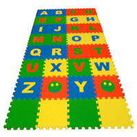 Мягкие полы Ekoprom Eco Cover Английский алфавит буквы 25 X 25