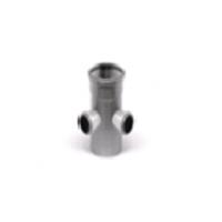 Крестовина двухпл.110/110/110 вн.канализ. (18) VALFEX