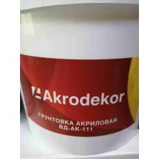 Акриловая грунтовка ВД-111 (5л)