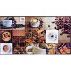 Панель ПВХ 0,3 мозаика Кофейня