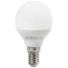 Лампа светодиодная LL-E-G45-7W-230-2,7K-E14 EUROLUX