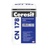 Легковыравнивающаяся смесь Ceresit CN178, 25 кг