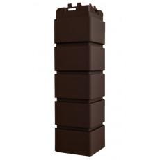 Угол Grand Line клинкерный кирпич  стандарт коричневый