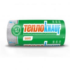 Мат минераловатный ТеплоKNAUF Баня TR 040 Alum 50х1200х12500 мм