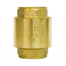 Клапан обратный пружинный STI 20  (латунь)