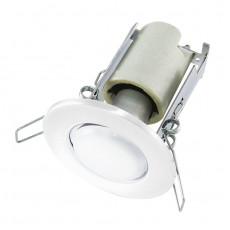Светильник встраиваемый R63 круглый Е27, 75Вт, 230В, IP20, белый