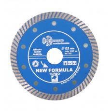 Диск алмазный 125*10/22.23 New Formula ТУРБО (сухая резка) Т102