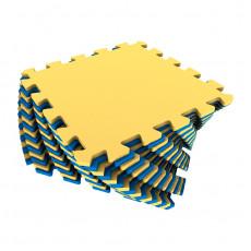 Мягкие полы Ekoprom Eco Cover универсальный желто-синий 25 X 25