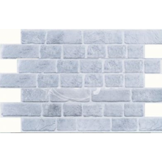 Панель ПВХ 0,4 кирпич Ретро серый