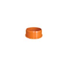 Заглушка D 110мм РЫЖАЯ нар.канализ.(250) VALFEX