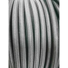 Шнуры резин. 8мм 24 пр. черный 1 п.м.