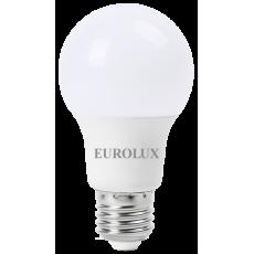 Лампа светодиодная  LL-E-A60-7W-230-2,7K-E27 EUROLUX