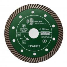 Диск алмазный 125*10*22.23 mm Ultra Turbo Grand hot press Гранит (Сухая резка) GRT732