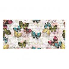 Панель ПВХ 0,3 мозаика Бабочки