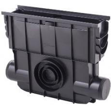 Дренажная система ПВХ Пескоуловитель (черный), 0,500*0,413*0,131м