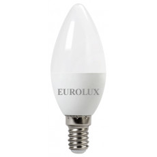 Лампа светодиодная LL-E-C37-7W-230-2,7K-E14 EUROLUX