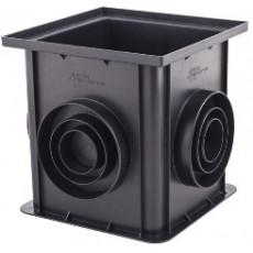 Дренажная система ПВХ Дождеприемник (черный), 0,312*0,312*0,300м