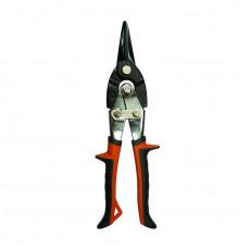 Ножницы по металлу прямые CrMo сталь,маслобензостойкие рукоятки 250мм БИБЕР