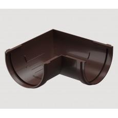 Döcke STANDARD Угловой элемент желоба 90° универсальный (Тёмно-коричневый)