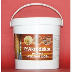 Мастика «Теплый шов» 1,5кг (1л) - орех