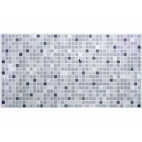 Панель ПВХ 0,3 мозаика Микс серый