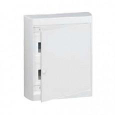 Nedbox Щит навесной 2х12м белая дверь с шинами N/PE