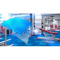 Модульная плитка ПВХ Эко-Спорт 5мм