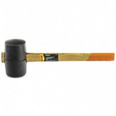 Киянка резиновая, 680г., черная резина, деревянная рукоятка Sparta