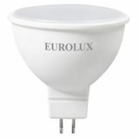 Лампа светодиодная L-E-MR16-7W-230-2,7K-GU5.3 EUROLUX