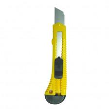 Нож строительный 18мм БИБЕР
