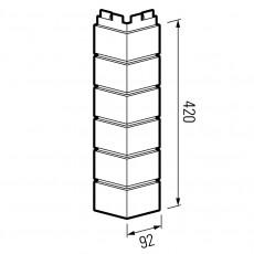 VOX Угол Solid Brick DORSET