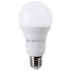 Лампа светодиодная LL-E-A70-20W-230-4K-E27 EUROLUX