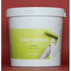 Краска ВД-АК-111 потолочная белая 4,5кг (3л)