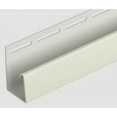 Döcke Фасадный J-профиль 30 мм (Слоновая кость)