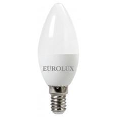 Лампа светодиодная LL-E-C37-5W-230-2,7K-E14 EUROLUX