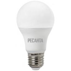 Лампа светодиодная LL-R-A60-9W-230-3K-E27 РЕСАНТА