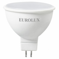 Лампа светодиодная LL-E-MR16-7W-230-4K-GU5.3 EUROLUX