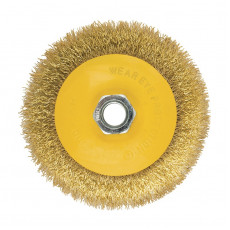 Щетка-крацовка дисковая для УШМ 100мм БИБЕР