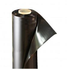 Пленка полиэтиленовая черная 120 мкм ширина 3 м / рукав 1,5 м (100 м)