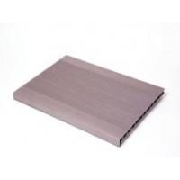 Ступень широкая из древесно-полимерного композита 3000х345х23 мм в цвет доски