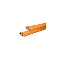 Труба ф110 с раструбом L=0.5 м рыжая нар.канализ.толщ.ст.3.4 (30) VALFEX