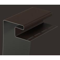 Околооконный профиль 30 мм BERGART (Шоколад)