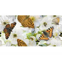 Панель ПВХ 0,3 мозаика «Аромат лета»